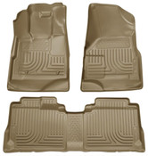 09-12 ESCAPE/09-11 MARINER/TRIBUTE WEATHERBEATER FRONT & 2ND SEAT FLOOR LINERS TAN