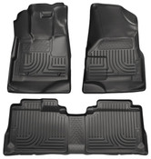 09-12 ESCAPE/09-11 MARINER/TRIBUTE WEATHERBEATER FRONT & 2ND SEAT FLOOR LINERS BLACK