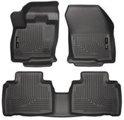 15-16 EDGE FRONT & 2ND SEAT FLOOR LINERS WEATHERBEATER BLACK