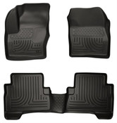 13-15 ESCAPE WEATHERBEATER FRONT & 2ND SEAT FLOOR LINER BLACK