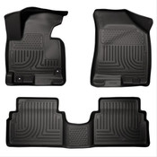 14-15 TUCSON FRONT & 2ND SEAT FLOOR LINERS BLACK