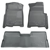 09-15 PILOT WEATHERBEATER FRONT/2ND SEAT FLOOR LINERS GREY