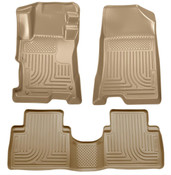 08-12 ACCORD 4-DOOR FRONT AND SECOND SEAT LINER TAN
