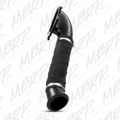 "MBRP 3"" Turbo Down Pipe - Carb EO # D-763 fits 2001-2004 Chev/GMC 6.6L Duramax"