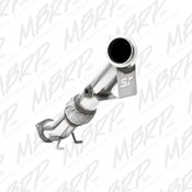 13-14 FOCUS ST 2.0L ECOBOOST 3IN DOWN PIPE W/O CAT