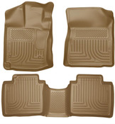 12-14 VENZA FRONT/2ND SEAT FLOOR LINERS TAN