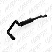 "MBRP 3"" Cat Back, Single Side Exit, Black fits 2016-2017 Toyota Tacoma 3.5L"