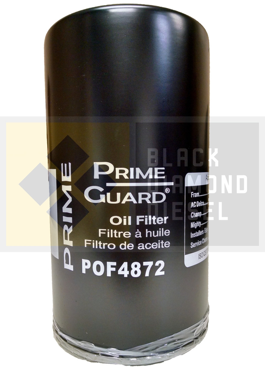 Prime Guard Oil Filter Fits 1994-2003 Ford 7.3 Powerstroke ...