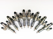 Dynomite Duramax 01-04 LB7 Reman Injector SET - CUSTOM Super Mental Series
