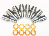 Dynomite Ford 6.0L Injector Nozzle Set - 50 (15% Over)