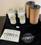 6.0 Powerstroke Oil And Fuel Filter 2 Set Sale with Free T Shirt and Decal