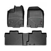 Black Front and Rear Floorliners Toyota FJ Cruiser 2007 - 2010