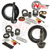 Silverado/Sierra Gear Package Kit 01-10 Chevrolet/GMC 2500 and 3500HD Diesel or 8.1L 4.56 Ratio Nitro Gear and Axle