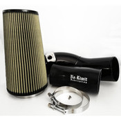 6.0 Cold Air Intake 03-07 Ford Super Duty Power Stroke Black PG7 Filter No Limit Fabrication