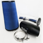 6.7 Cold Air Intake 11-16 Ford Super Duty Power Stroke Polished Oiled Filter Stage 2 No Limit Fabrication