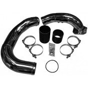 6.4 Coldside Kit 08-10 Ford Super Duty Power Stroke Polished Stainless No Limit Fabrication