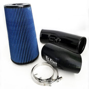 6.7 Cold Air Intake 11-16 Ford Super Duty Power Stroke Black Oiled Filter Stage 2 No Limit Fabrication