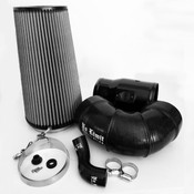 6.4 Cold Air Intake 08-10 Ford Super Duty Power Stroke Black Dry Filter No Limit Fabrication