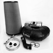 6.4 Cold Air Intake 08-10 Ford Super Duty Power Stroke Polished Dry Filter for Mod Turbo 5 Inch Inlet No Limit Fabrication