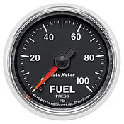 Autometer 2-1/16 In. Fuel Press, 0- 100 Psi, Fse, Gs
