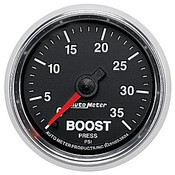 Autometer 2-1/16 In. Boost, 0-35 Psi, Mech, Gs