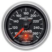 Autometer 2-1/16in TRANS TEMP, 100- 260`F, FSE SPORT COMP II W/ PRO CONTROL