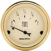 Autometer Golden Oldies Fuel Level, 0 E/30 F, Pre`65 Gm, 2In.