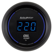 Autometer 2-1/16 In. Oil Temp, 0- 340`F, Digital, Black