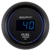 Autometer 2-1/16 In. Fuel Press, 0- 100 Psi, Digital, Black