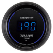 Autometer 2-1/16 In. Trans Temp, 0- 340`F, Digital, Black