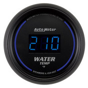 Autometer 2-1/16 In. Water Temp, 0- 340`F, Digital, Black