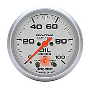 Autometer 2-5/8 In. Ultra-Lite Oil Pressure Gauge 0-100 PSI