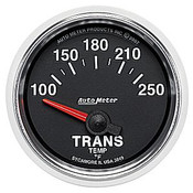 Autometer 2-1/16 In. Trans Temp, 100- 250`F, Sse, Gs