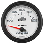 Autometer 2-5/8in WATER TEMP, 100- 250`F, SSE PHANTOM II