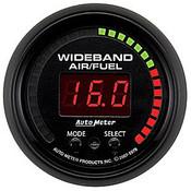 Autometer 2-1/16 In. Wideband A/F, W/Sensor, Cobalt, Es