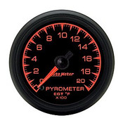 Autometer 2-1/16 In. Pyrometer Kit, 0-2000`F, Full Swp Elec