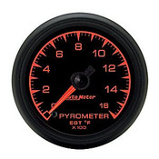 Autometer 2-1/16 In. Pyrometer Kit, 0-1600`F, Full Swp Elec.
