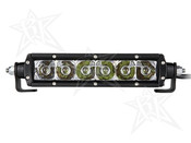 Rigid Lights  6in SR-Series - Spot/Flood Combo - Amber