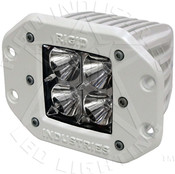 Rigid Lights  M-Series - Flush Mount - Dually - Flood - Set of 2