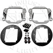 Rigid Lights  Jeep JK - Fog Light Brackets