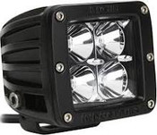 Rigid Lights  2X2 - Dually - LED Light - Flood - Single