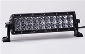 Rigid Lights  10in Amber Series LED lightbar flood pattern