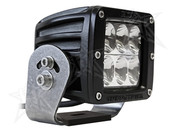 Rigid Lights  D2 HD Black- Driving - Single