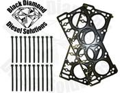 Black Diamond 6.0 Powerstroke 03-05 Silver Basic 18MM Head Gasket Solution Kit