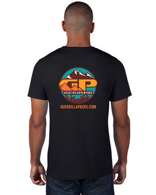 Back of the Seek The Adventure T-Shirt