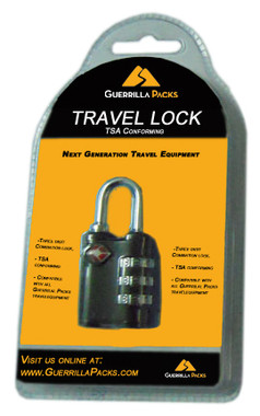 TSA travel lock