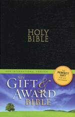NIV Gift Award Bible / Black