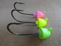 Screw Lock Bullet Nose Jig Heads 1/8 - 3/8 oz (5 pack)