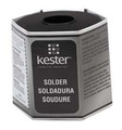 KESTER Water Soluble Core Solder, SN63/PB37, .015, 331-66, One Pound Spool. (24-6337-6422)