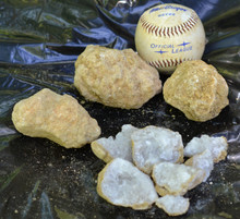 Sold by weight. Stones pictured are shown as examples. Baseball not included.